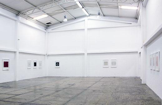 exhibition view - filomela at luis adelantad mexico