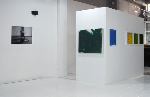 exhibition view - here and elsewhere at bucarelli 120