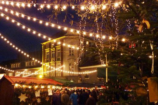 Lichterzelt am Blotschenmarkt