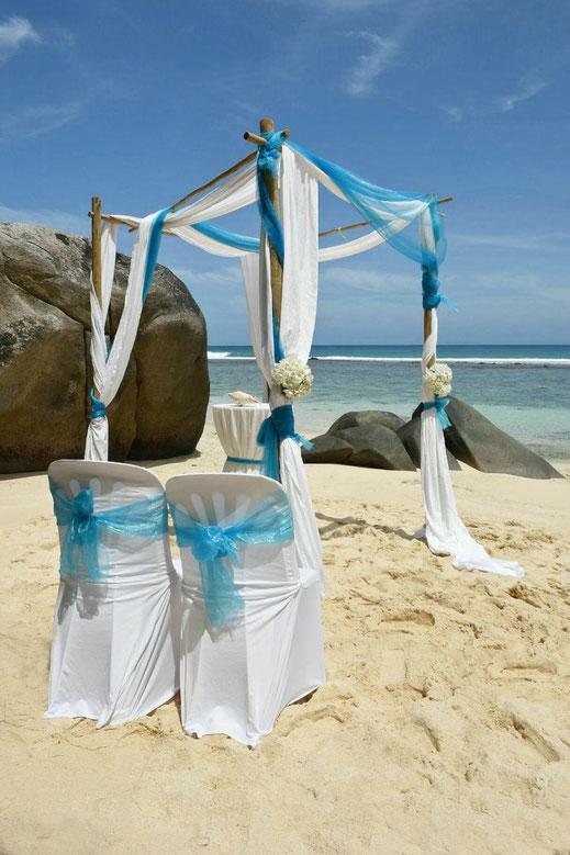 Destinatiuon Wedding at  the Seychelles