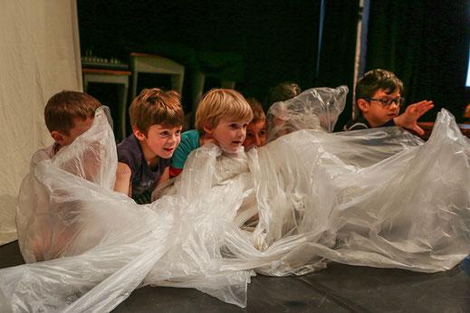 Cours théâtre enfants à Bruxelles