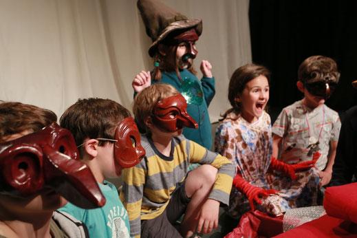Théâtre à Bruxelles, stages week-end adultes et cours théâtre enfants