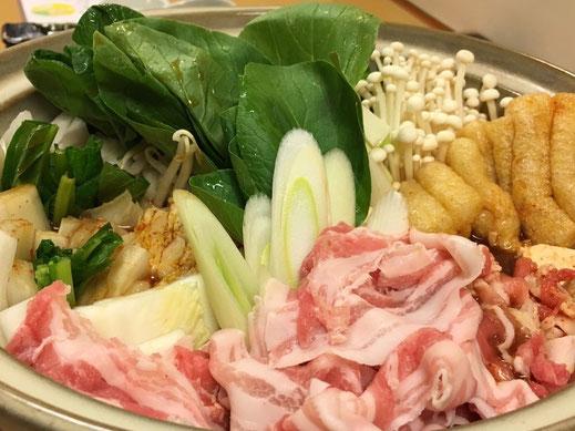 豊橋の居酒屋さんキムチ鍋