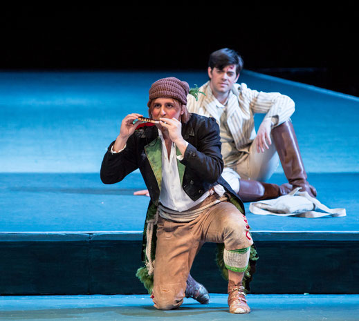 Christoph Filler (Papageno), Dean Power (Tamino) | © Marie-Laure Briane