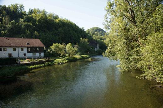Goumois Affenfelsen Doubs Jura