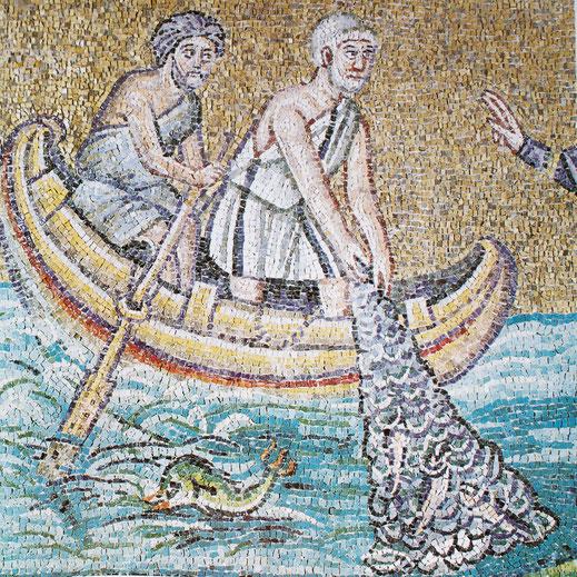Ravenna, Apollinare Nuovo 6. Jhd.