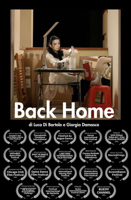 screendance videodanza video danza back home giorgia damasco dancer covid-19 dance dancer ballet cinema filmfestival festival