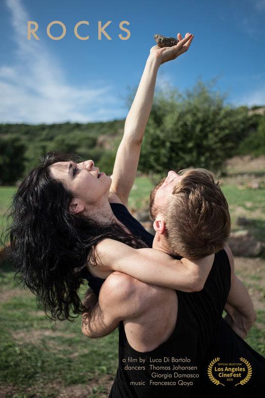 Collision a short film by Luca Di Bartolo with Erica Fadda and Davide Vallascas choreographer Giorgia Damasco screendance videodanza video danza  dancer  dance dancer ballet cinema filmfestival festival