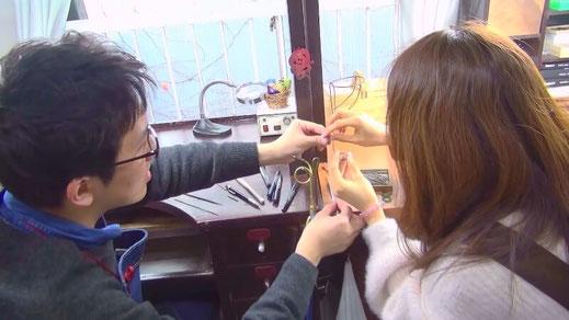 手作り結婚指輪制作