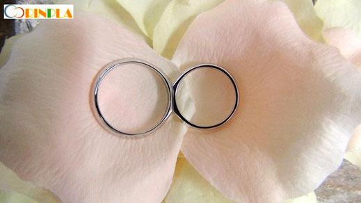 永遠を象徴する手作り結婚指輪