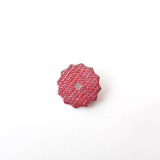 星型12角形緋銅ブローチ