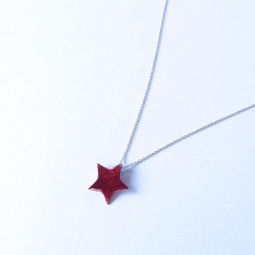 緋銅ペンダントネックレス