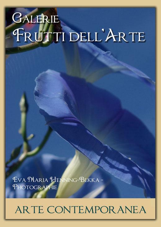 Plakat mit dem Titel: endlich Sommer zur Aachener Kunstoute 2016 in der Galerie Frutti dellArte