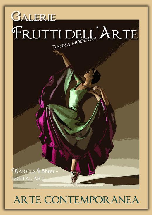 Kunst Mode Wallendes in der Galerie Frutti dell'Arte während der Aachener Kunstroute 2016 am 23., 24. und 25. September und in der Ausstellung Spektrum in der Aula Carolina