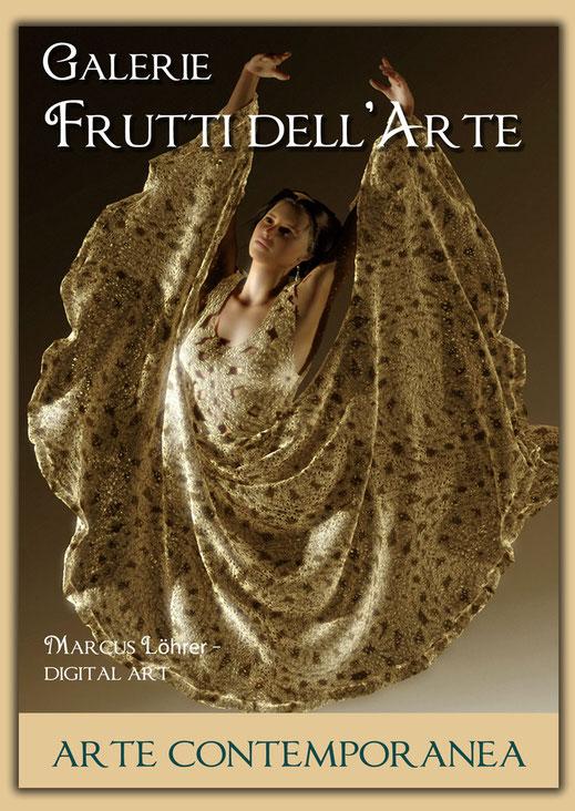 Kunst Mode Spitzentanz 2 in der Galerie Frutti dell'Arte während der Aachener Kunstroute 2016 am 23., 24. und 25. September und in der Ausstellung Spektrum in der Aula Carolina