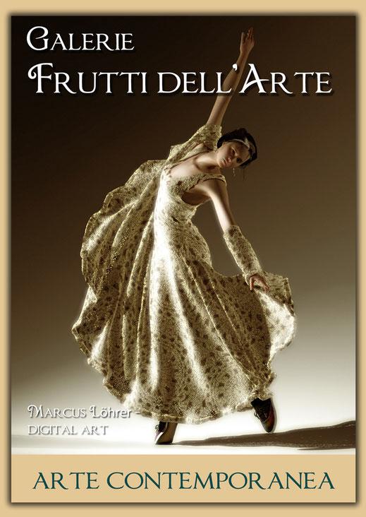 Kunst Mode Spitzentanz 1 in der Galerie Frutti dell'Arte während der Aachener Kunstroute 2016 am 23., 24. und 25. September und in der Ausstellung Spektrum in der Aula Carolina