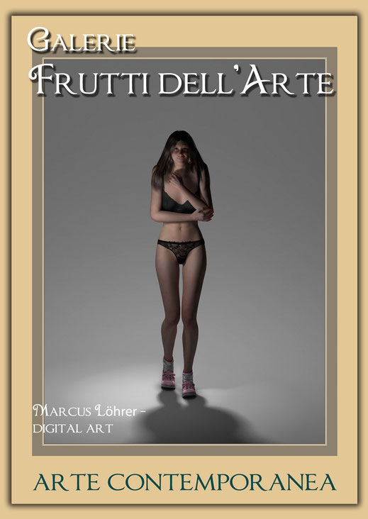 Kunst Mode Dessous in der Galerie Frutti dell'Arte während der Aachener Kunstroute 2016 am 23., 24. und 25. September und in der Ausstellung Spektrum in der Aula Carolina