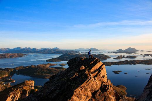 Bergsteigen in Norwegen, Rødøyløva