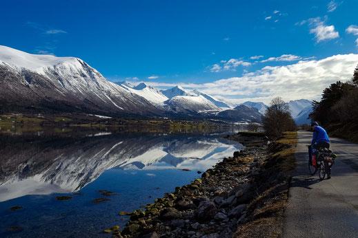 Skitouren in Norwegen, Romsdalen Åndalsnes