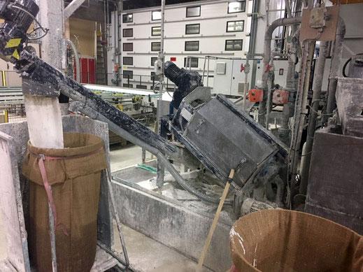 Lackkoagulierung, Flotationsanlage, Schlammentwässerung, Volumenreduzierung, Kosteneinsparung, weniger Abfall