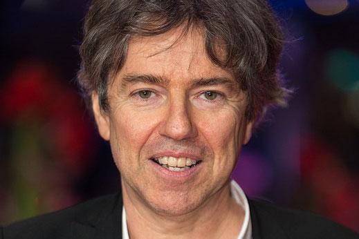 Andres Veiel auf der Berlinale 2017. Bild: Martin Kraft [CC BY-SA 3.0 (https://creativecommons.org/licenses/by-sa/3.0)]. Genaue Lizenz siehe unten.* Bild zugeschnitten.