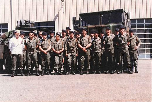 Section Dépannage, C.C.S. en 1991 (En veste blanche, SCH PEILLON)
