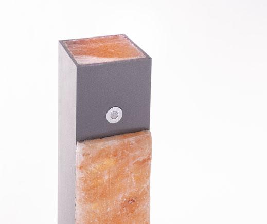 10cm breite Salzsteine.