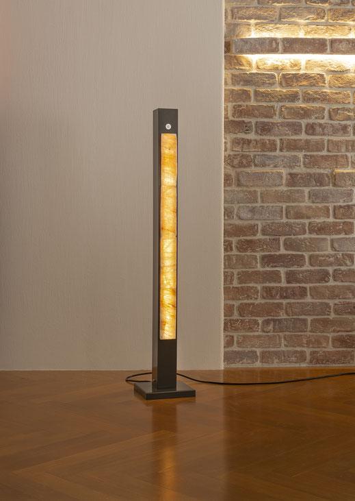 Elegante 8x8cm Leuchte mit Touch-Dimmer