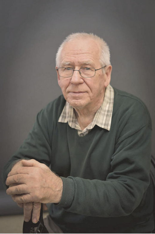 2018 год. Владимир Шкунденков в возрасте 80 лет
