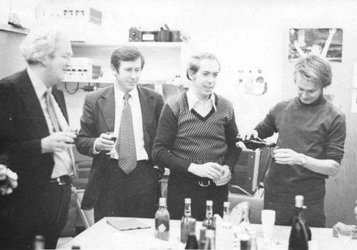 1975 год. Владимир Шкунденков в ЦЕРН (Женева) на пути создания лучшего в мире сканера АЭЛТ-2/160