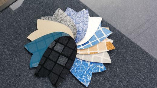 Schwimmbadfolien verlegen / verschweißen - große Auswahl von Aquakonzept Schwimmbadbau