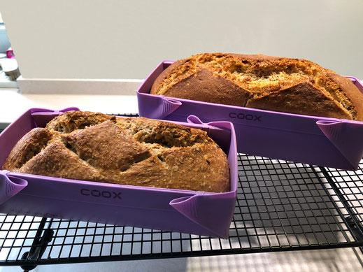 Hefefreies Brot, Brot, Brotrezepte, coox, Wunderform, Brot ohne Hefe