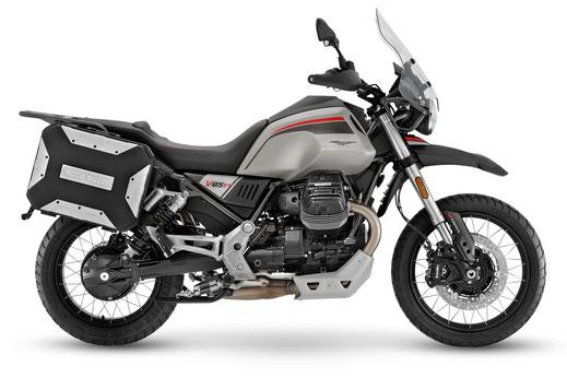 Moto Guzzi V85 TT Travel rechte Seitenansicht