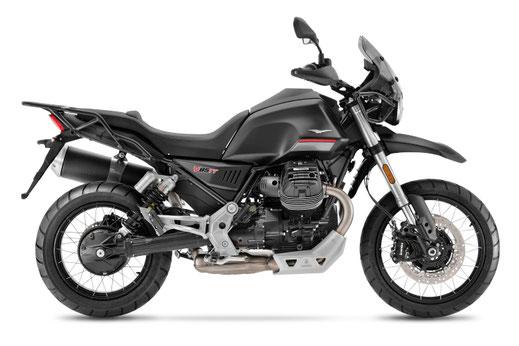 Moto Guzzi V85 TT - E5 - Schwarz Etna - rechte Ansicht