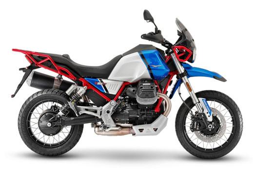 Moto Guzzi V85 TT weiß-rote Lackierung