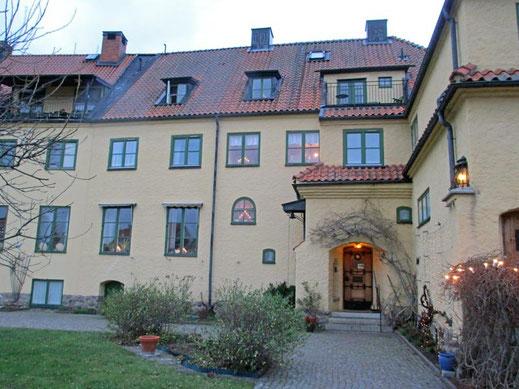 Das Gästehaus der Birgittinnen.