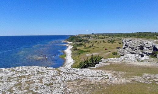 Die Küste von Gotland.