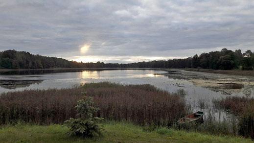 Ein See bei Aglona.