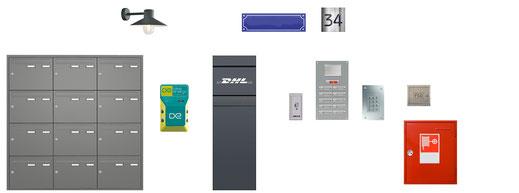 Das System Entry integriert alle Funktionen am Eingang in ein Design