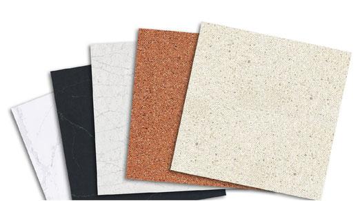 Frontplatten aus mineralischen Werkstoffen für besondere Designs