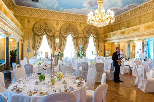 Festsaal im Romantik Seehotel Sonne in Küsnacht (ZH)