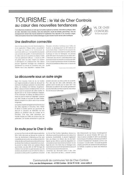 article Nouvelle République 41 - 19 novembre 2016