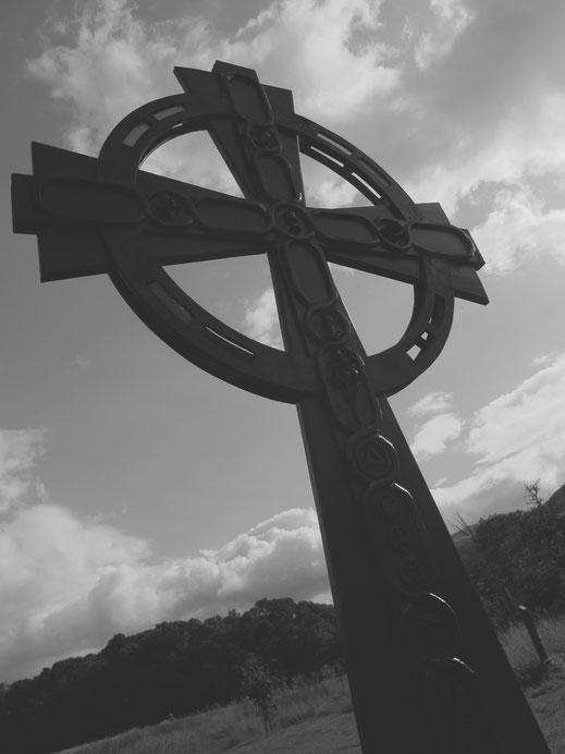 bigousteppes ecosse lac lomond croix celtique
