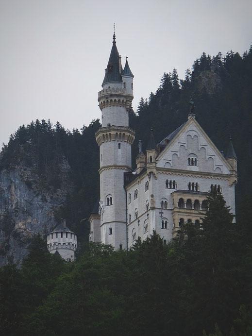 allemagne bavière nauschwanstein chateau
