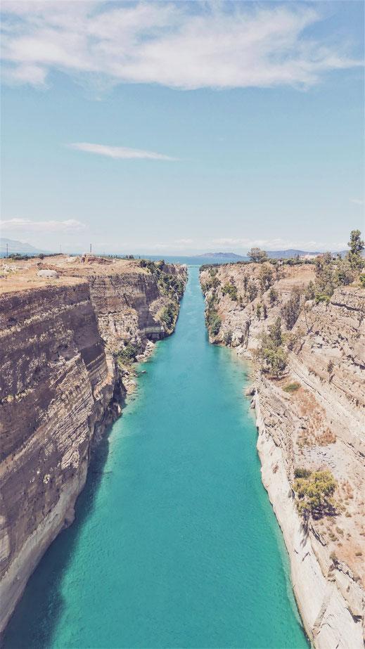 BIGOUSTEPPES BALKANS TOUR GRECE CANAL CORINTHE