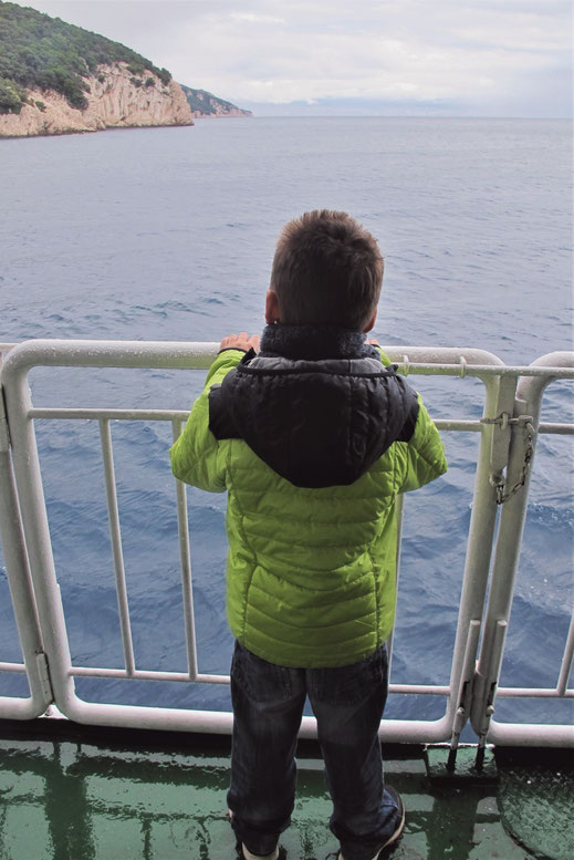 bigousteppes bateau istrie ile cres mer
