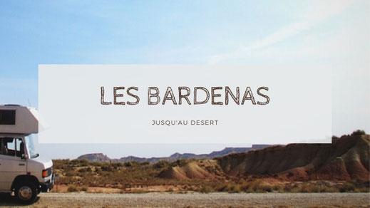 bigousteppes espagne bardenas camion mercedes