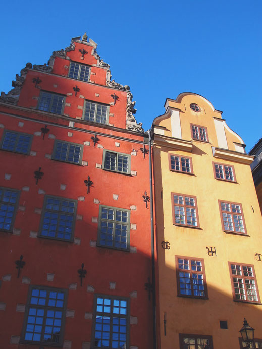 stockholm suède gamlastan stortorget bigousteppes