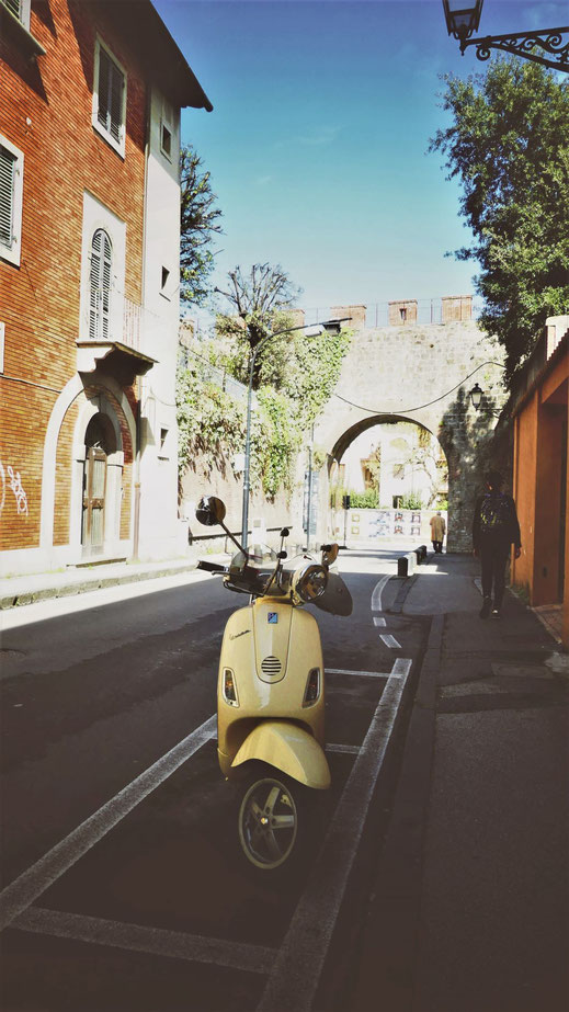 BIGOUSTEPPES ITALIE VESPA PISE