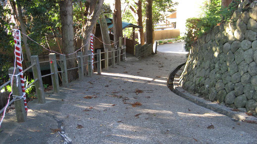 三島神社乙女坂の画像